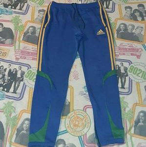 adidas Pants - Adidas Soccer Tappered Jersey Pants Fitness